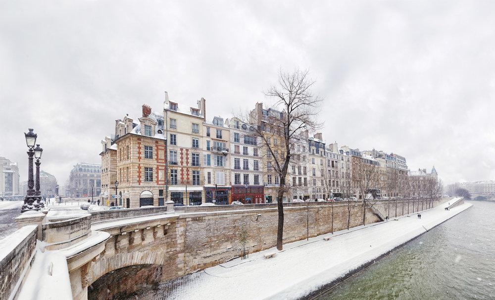 Pont Neuf - Paris, Hiver 2013