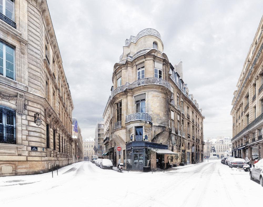 Rue Croix des Petits Champs - Paris, Hiver 2013