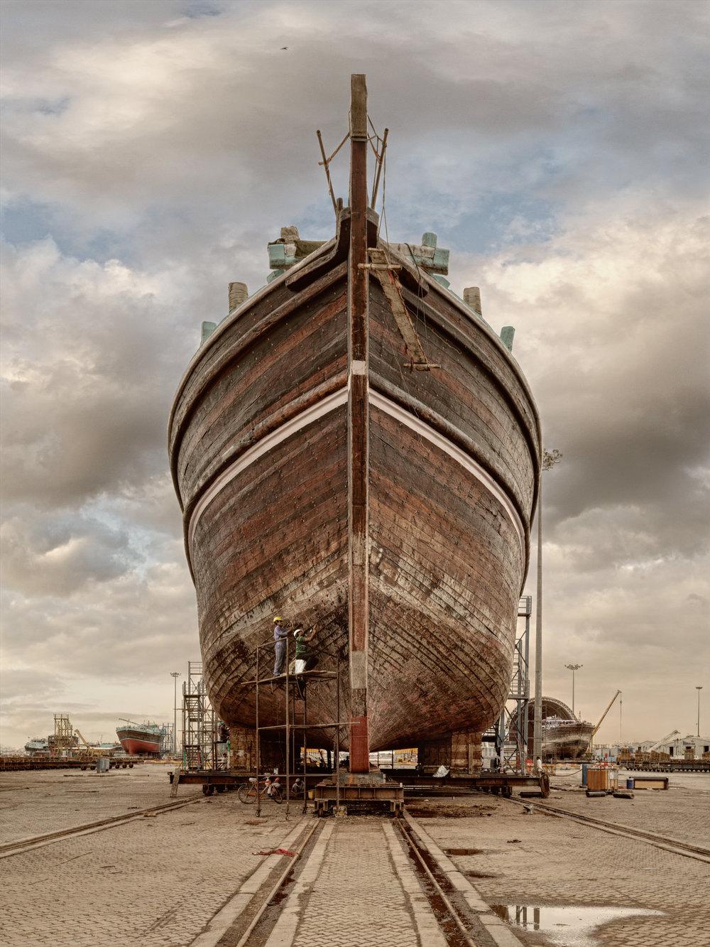 Ship I - Al Jaddaf Marine Dry Docks - Dubai 2017