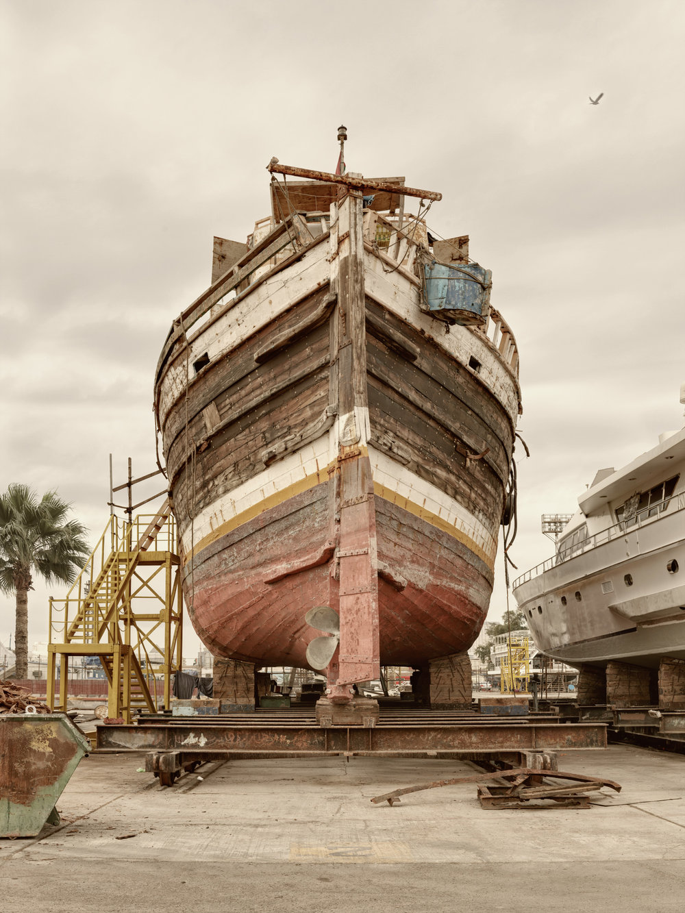 Ship II - Al Jaddaf Marine Dry Docks - Dubai 2017