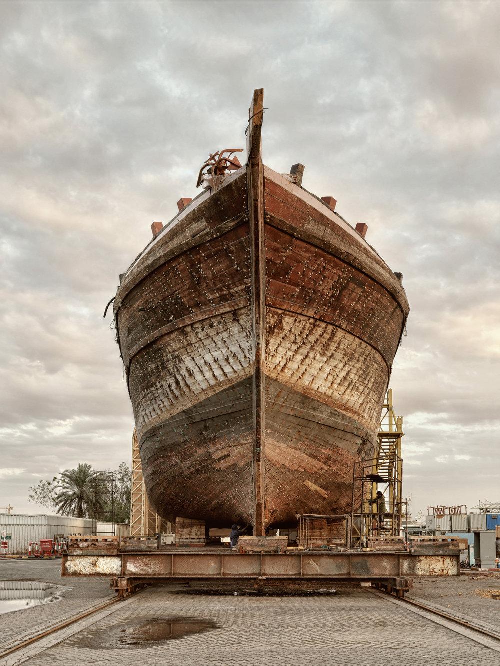 Ship III - Al Jaddaf Marine Dry Docks - Dubai 2017