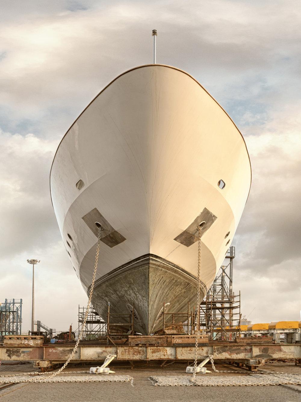 Ship IV - Al Jaddaf Marine Dry Docks - Dubai 2017