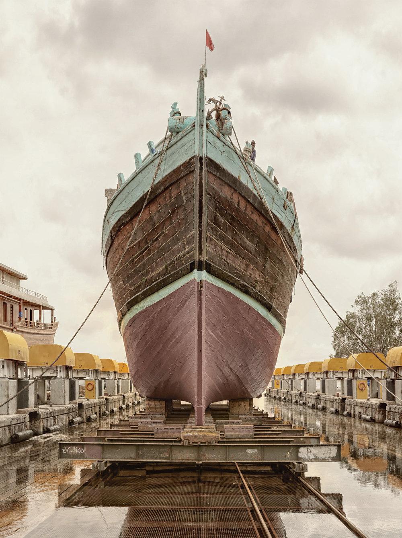 Ship V - Al Jaddaf Marine Dry Docks - Dubai 2017