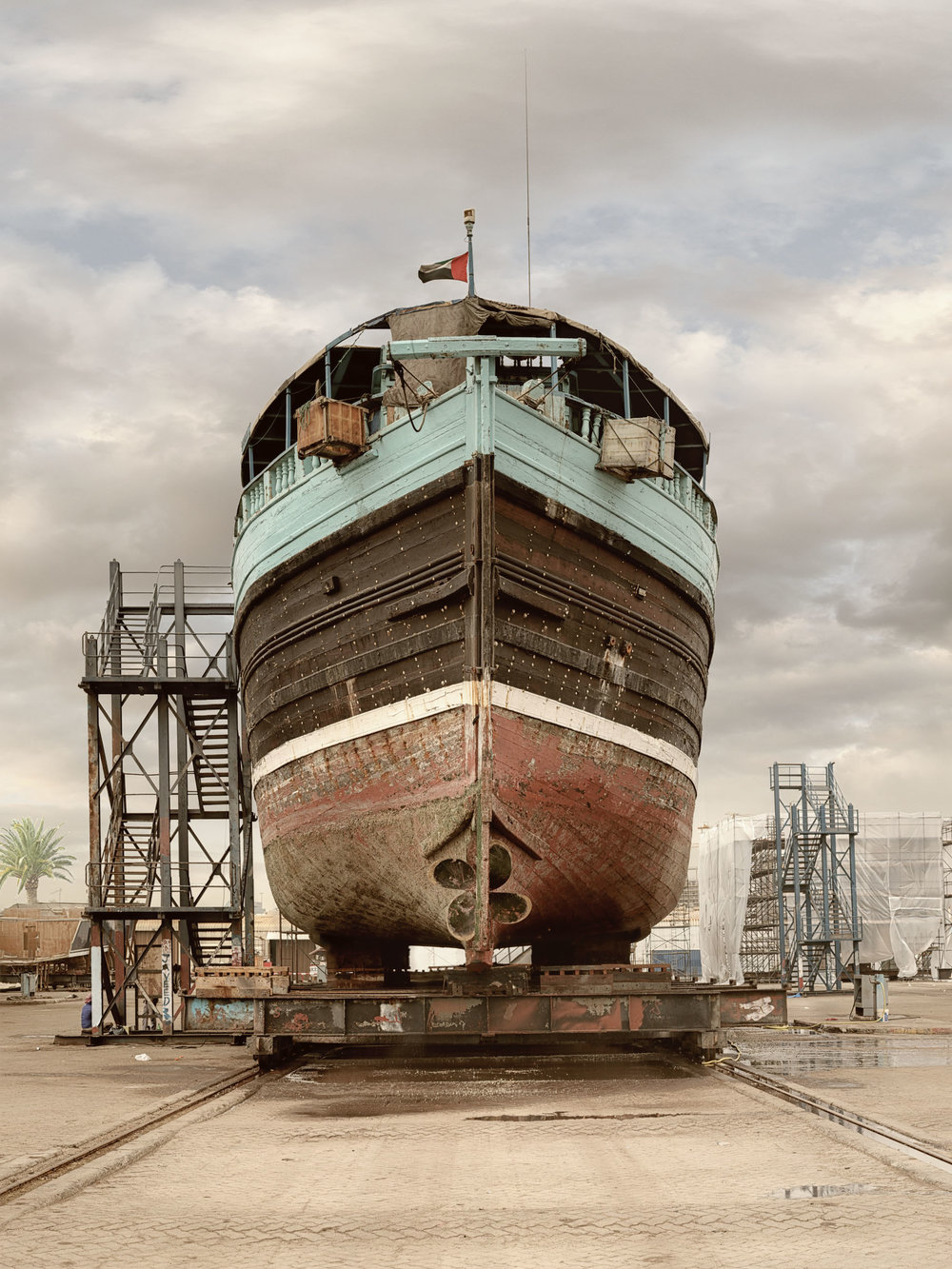 Ship VI - Al Jaddaf Marine Dry Docks - Dubai 2017