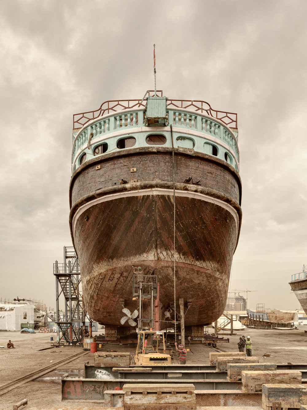 Ship VII - Al Jaddaf Marine Dry Docks - Dubai 2017