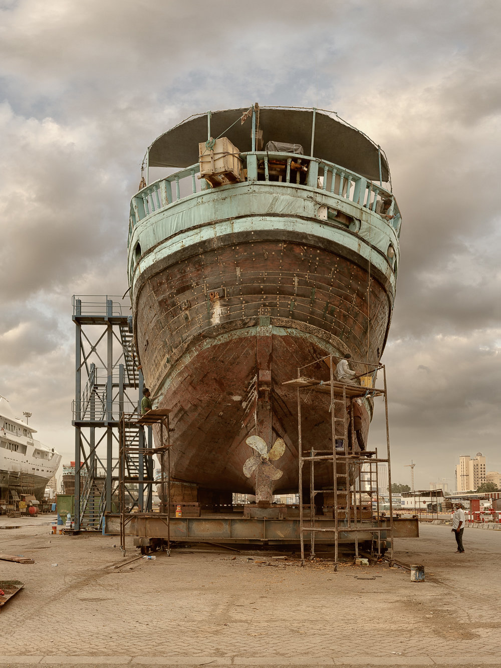 Ship VIII - Al Jaddaf Marine Dry Docks - Dubai 2017