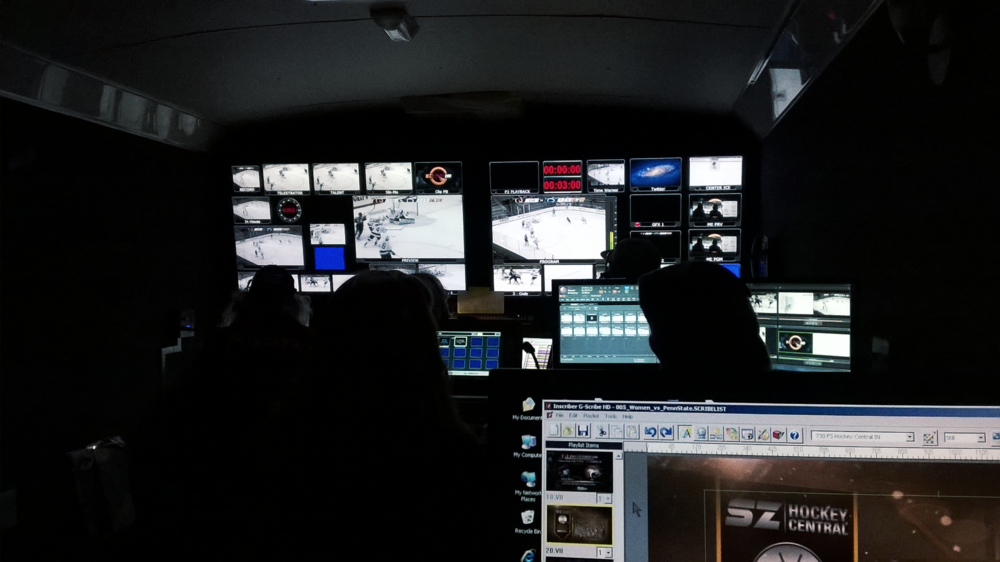 RIT Sportszone Production Truck