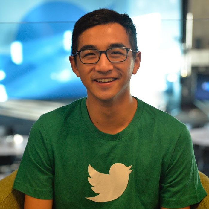 Dennis  @zhaomein       I studied computer science at UC Berkeley and helped teach the undergraduate data structures course. This led me to build products to address teaching at scale. Now, as an APM at Twitter, I work primarily on brand advertising - so far, I've worked on improving video view rates and ad campaign creation tools! I'm really excited to be working on this team at Twitter.