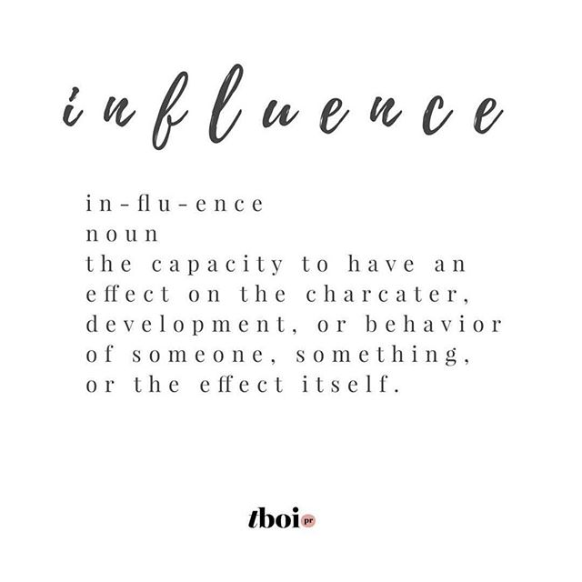 Having an influence on someone or something is powerful! As a Mum I get to influence someone everyday...and I love that. But for some reason I struggle with the word influencer and don't see myself as fitting into that category. Maybe it's because it's linked to social media, maybe it's because I associate it with pressure and expectation. What do you think about the word influence/influencer and what it means these days? 📸 @thebusinessofinfluence