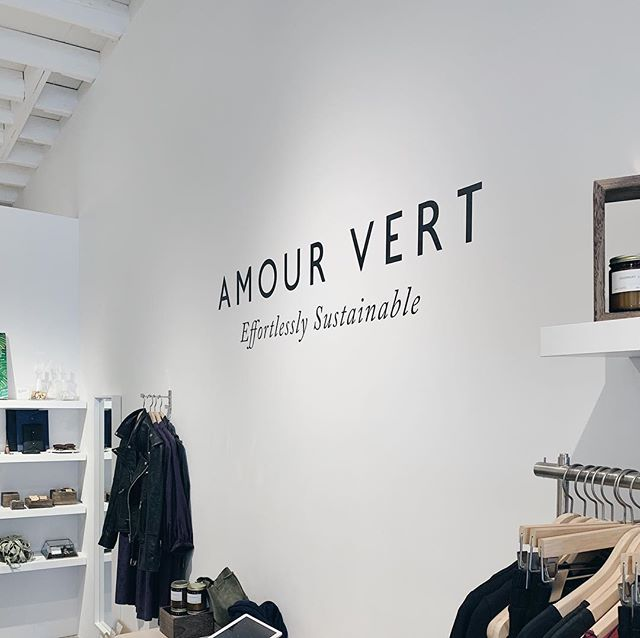 Managed to take a peek at the @amourvert store which is walking distance from our new neighborhood!! I will definitely be back...nothing beats an in store experience for me #oldschoolshopping 👌🏻