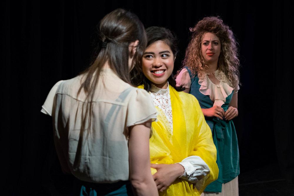 Ashley Morton, Isabella Dawis, Irina Kaplan. Photo by Lenny's Lens Photography.