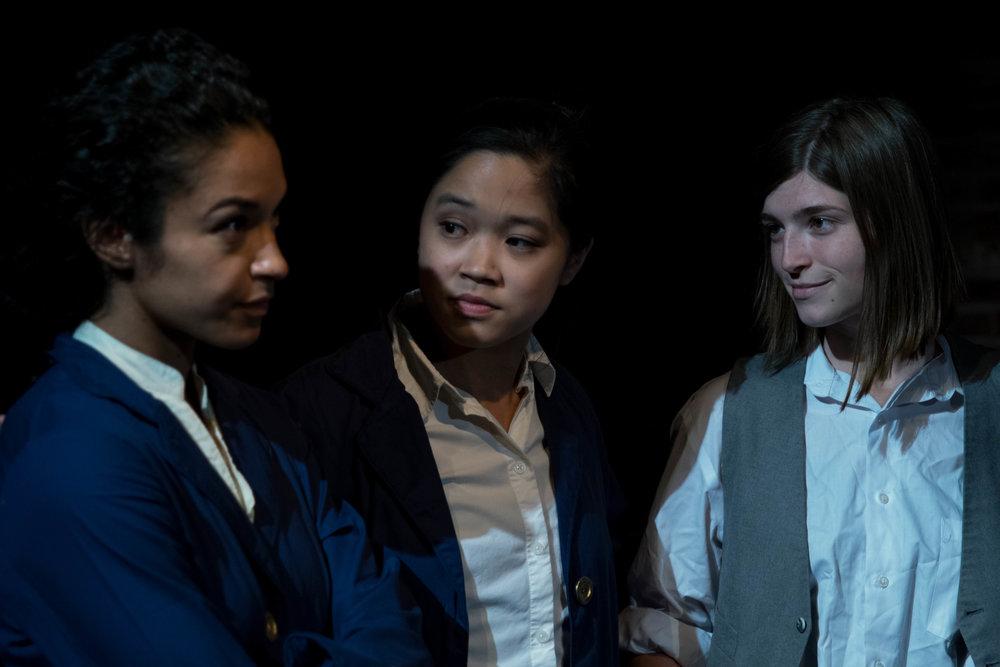 Simone Elizabeth Bart, Jaine Ye, Natasha Cole. Photo by Lenny's Lens Photography.