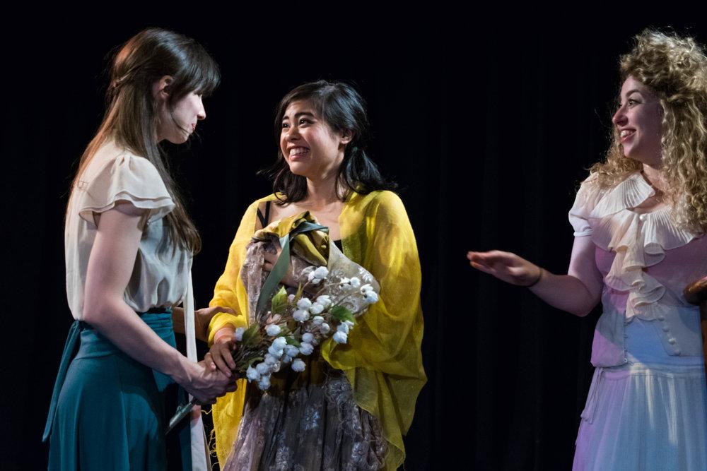 Ashley Morton, Irina Kaplan, Isabella Dawis. Photo by Lenny's Lens Photography.