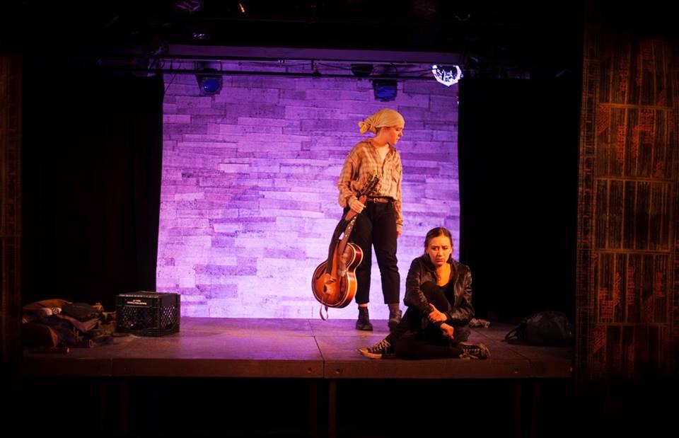 Sarah Keyes, Olivia Rose Barresi. Photo by Abigail Clark.