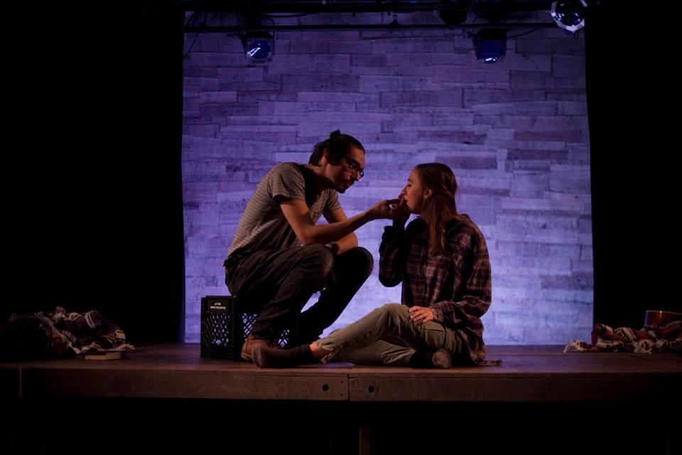 Sarah Keyes, Travis Staton-Marrero. Photo by Abigail Clark.