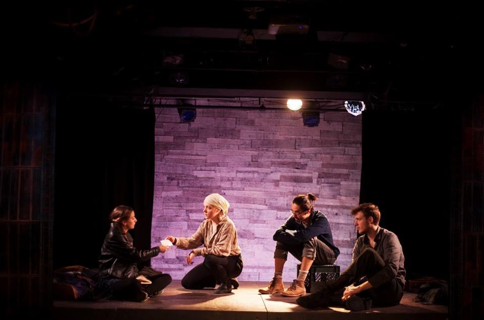 Sarah Keyes, Olivia Rose Barresi, Finn Kilgore, Travis Staton-Marrero. Photo by Abigail Clark.
