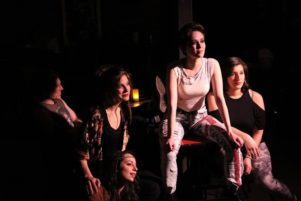 Sloan Bradford, Ali Stoner, Sarah Jordan Stout, Hailey Bachrach, Daniella Benavides. Photo by Miranda Poett.