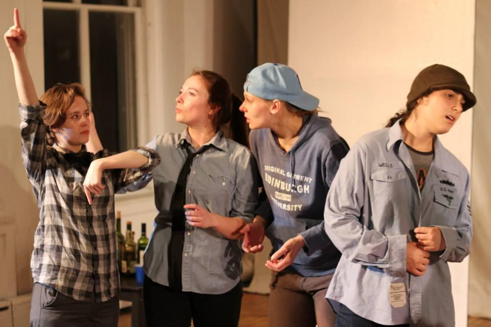 Hailey Bachrach, Mirando Poett, Ria DiLullo, Lily Drexler. Photo by Corbin Went.