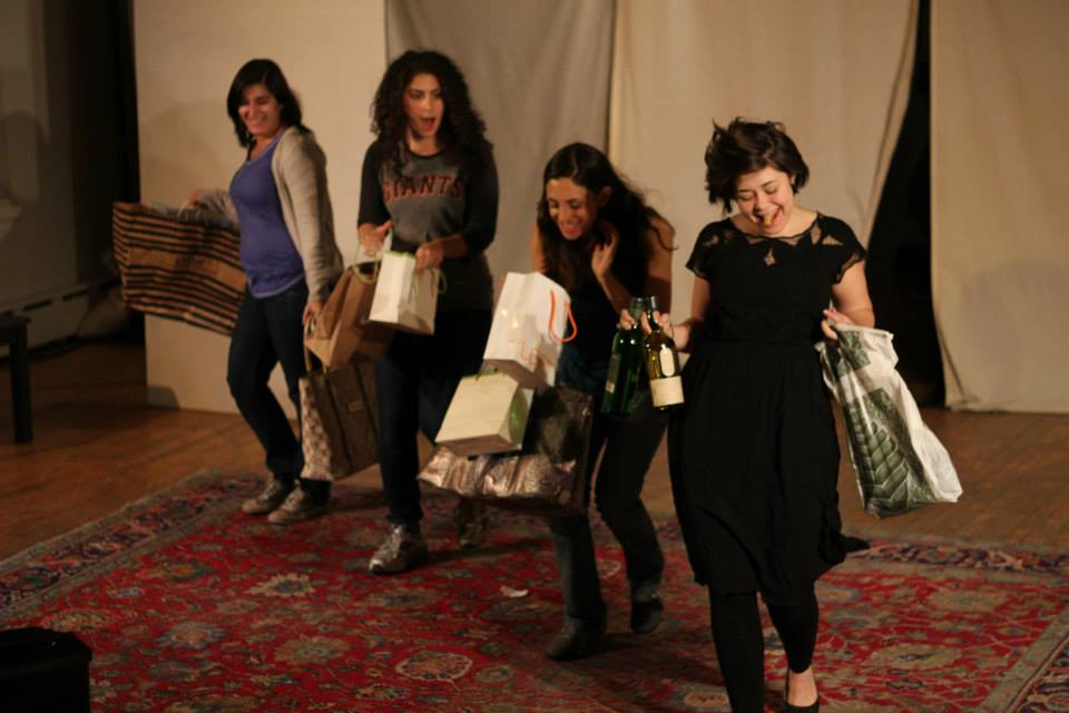 Daniella Benavides, Lily Drexler, Charlotte Foster, Cassie Foote. Photo by Corbin Went.