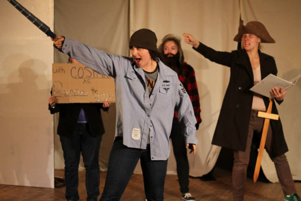 Lily Drexler, Miranda Poett, Ria DiLullo. Photo by Corbin Went.