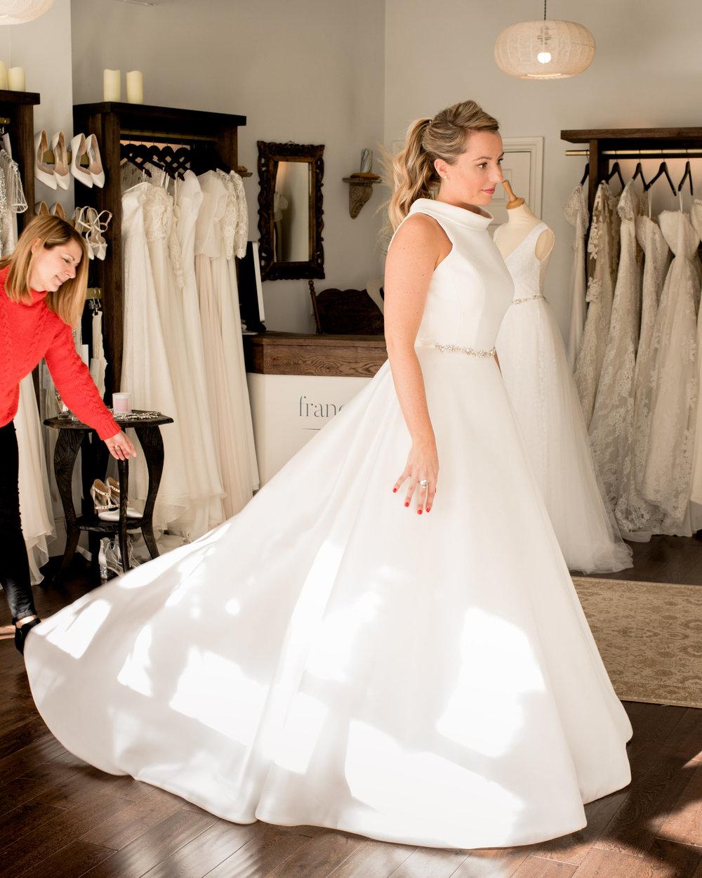 Dress: 'Swanson by  Suzanne Neville