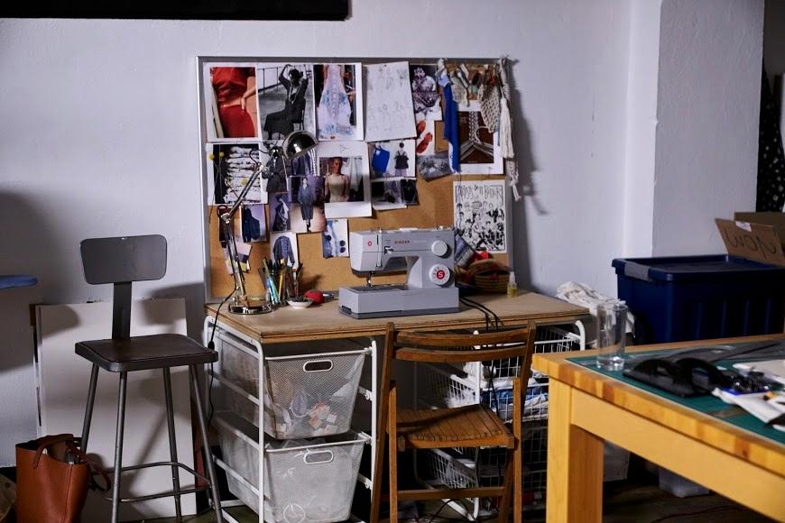 Danielle's work space