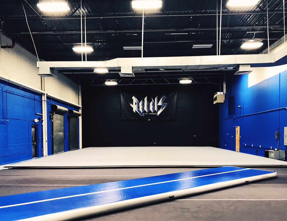 GYM III • Home of the US Cheer Rebels