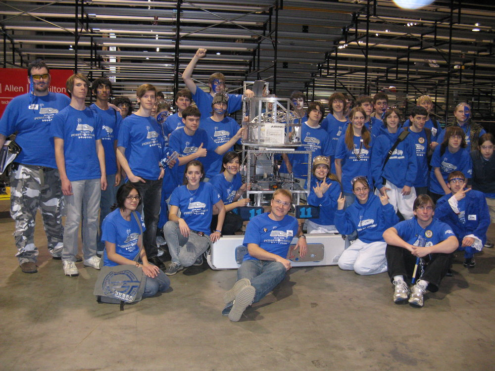 Hawkbot MK II was our robot for LunacySM in 2009. No further information currently available.