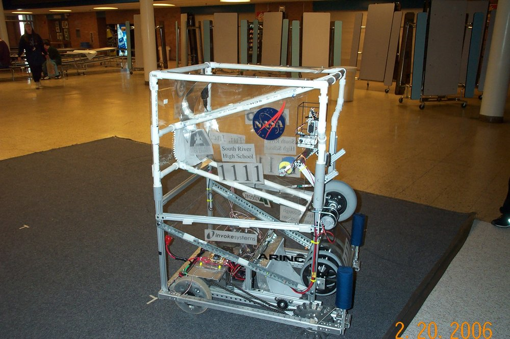Pedro was our robot for Aim HighSM in 2006. No further information currently available.