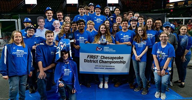 We are proud to be apart of the growing community of FIRST, which is recognized on various levels, going as far as getting recognized on Goodmorning America, where teams at worlds in Houston are advocating for STEM and FIRST to the lovely news crew. We love to see FIRST spread to everyone and events like this that help expand opportunities to all! Feel free to watch the segment here, and good luck to all at Worlds!! :)https://www.goodmorningamerica.com/living/video/robotics-trend-high-school-sports-62524295  #Omgrobot #powerhawks #first #spreading #news #goodmorningamerica #stem #opportunities #firstlikeagirl #firstforeveryone