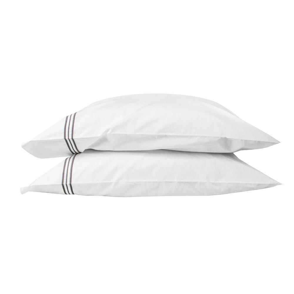 Trio Shale Standard Pillowcases (Pair)