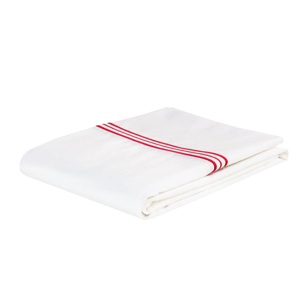 Trio Red Flat Sheet