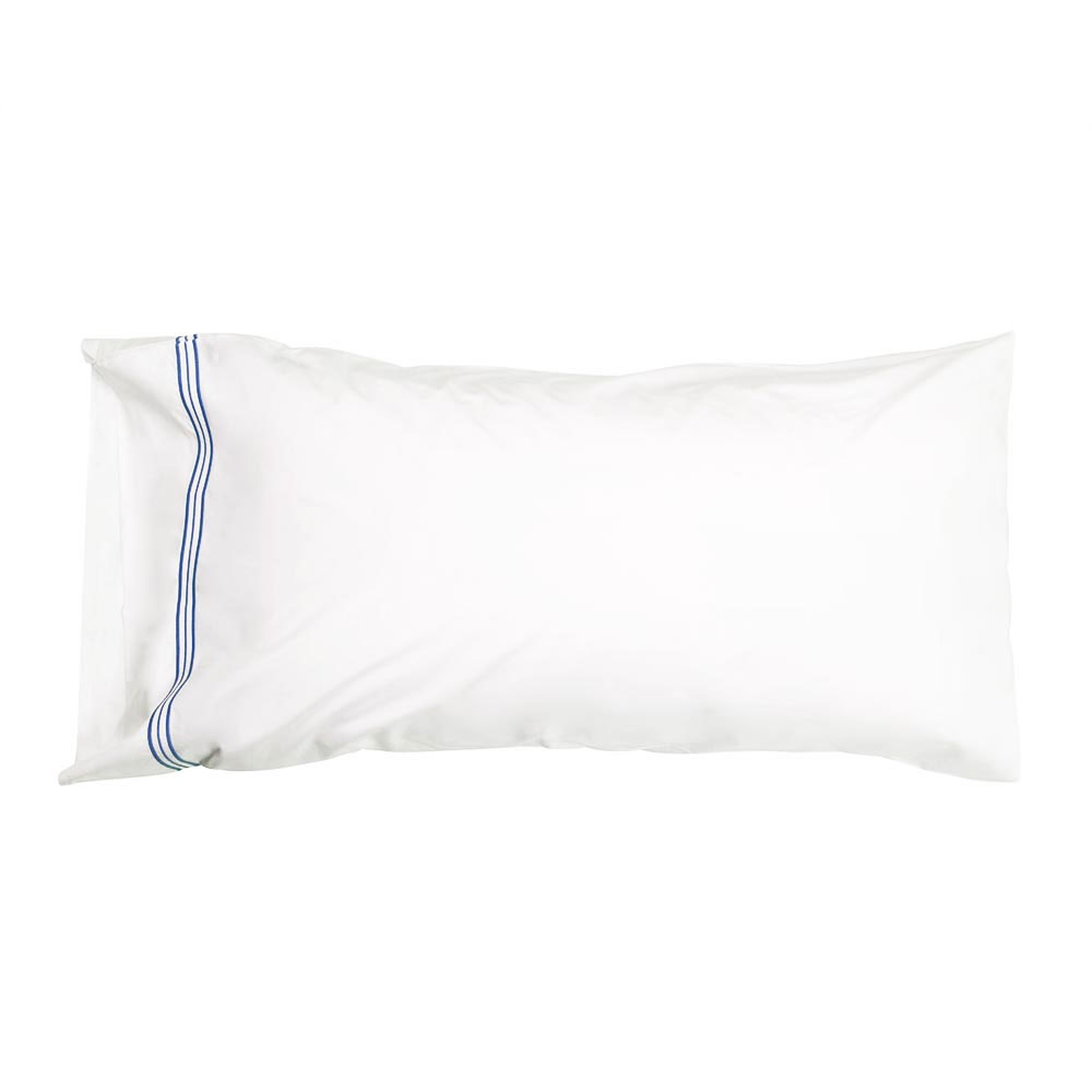 Trio French Blue King Pillowcases (Pair)