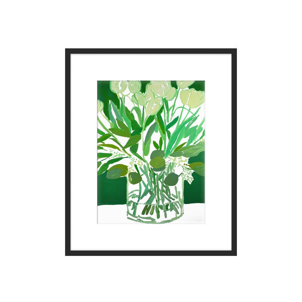 Emerald by Bridgette Thornton for Artfully Walls