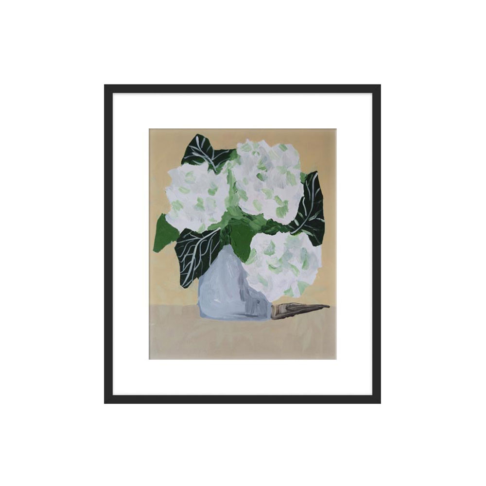 Hydrangeas for Paula by Jamie Corley for Artfully Walls