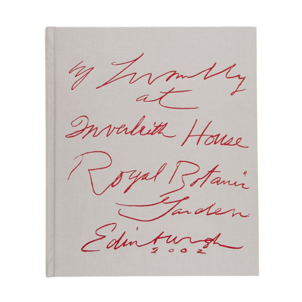 Cy Twombly at Inverleith House Catalogue