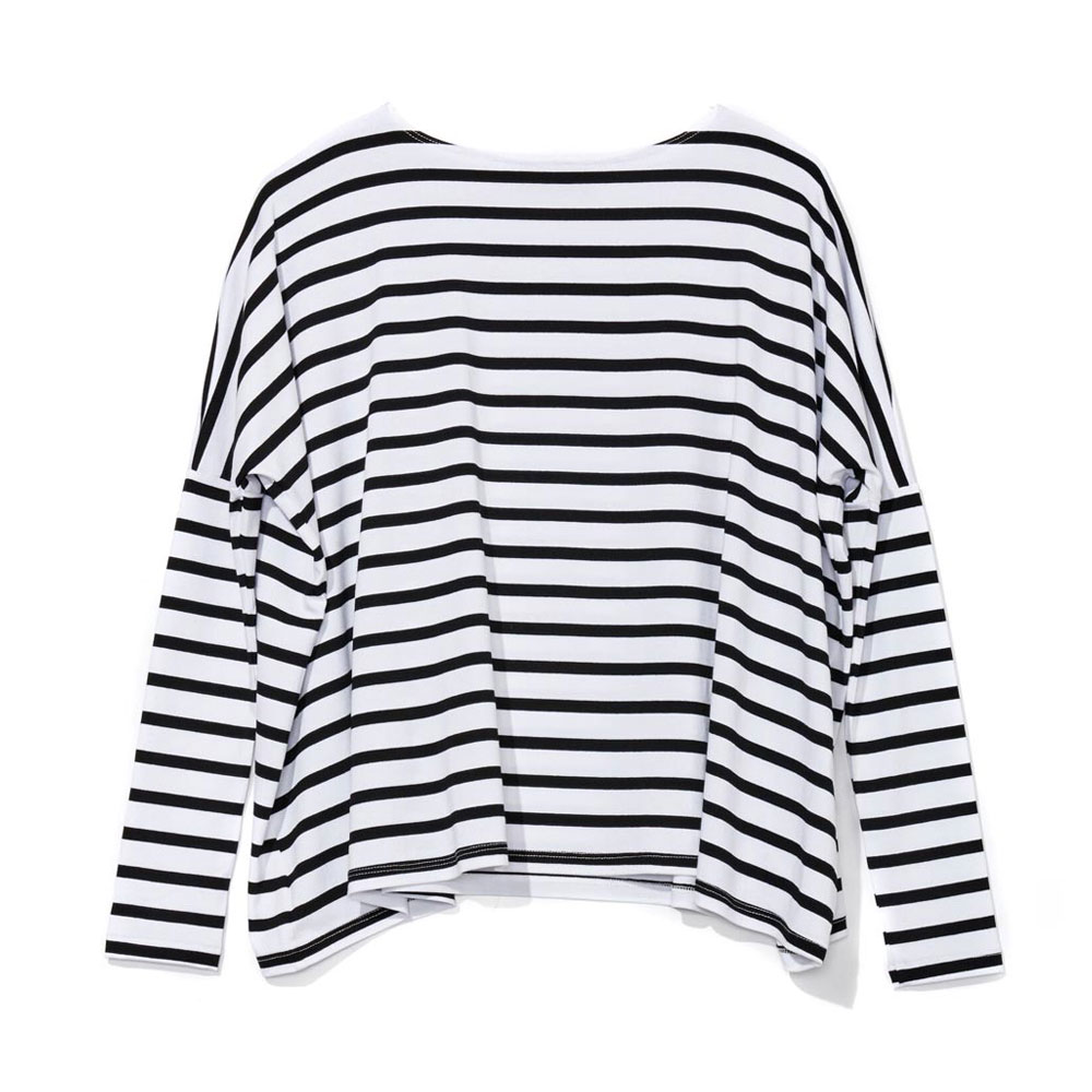 Striped Long-Sleeve Tee
