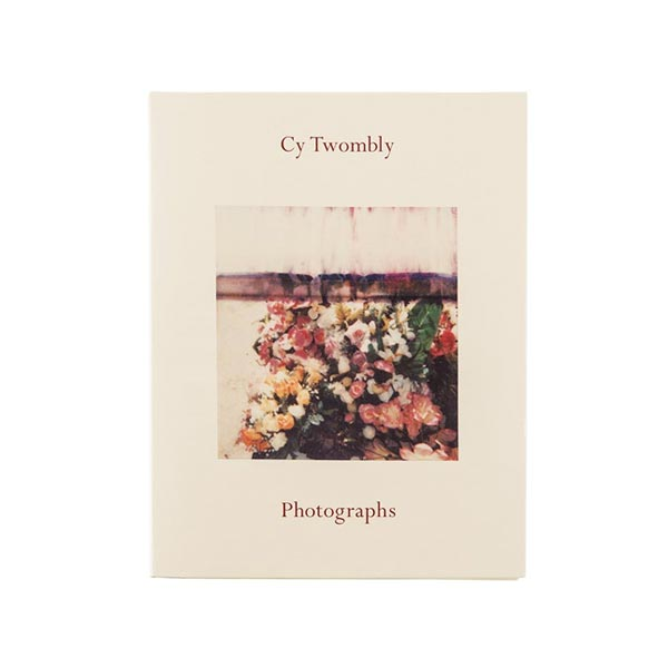 Cy Twombly: Photographs Catalogue