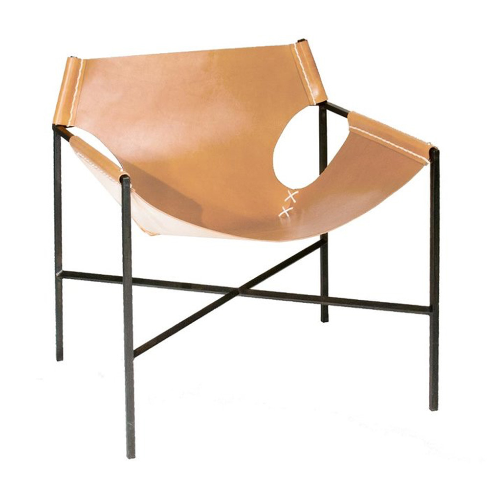 Cognac Club Chair