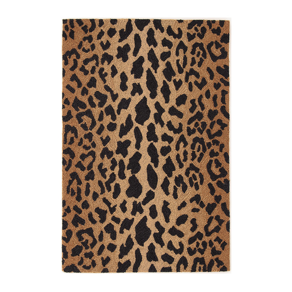 Copy of Leopard Wool Micro Hooked Rug