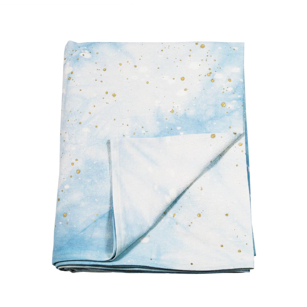 Light-Blue Cosmic Tablecloth