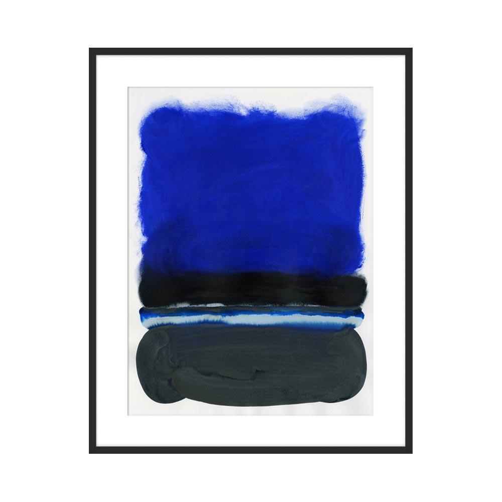 Cobalt Stripe by Kristi Kohut