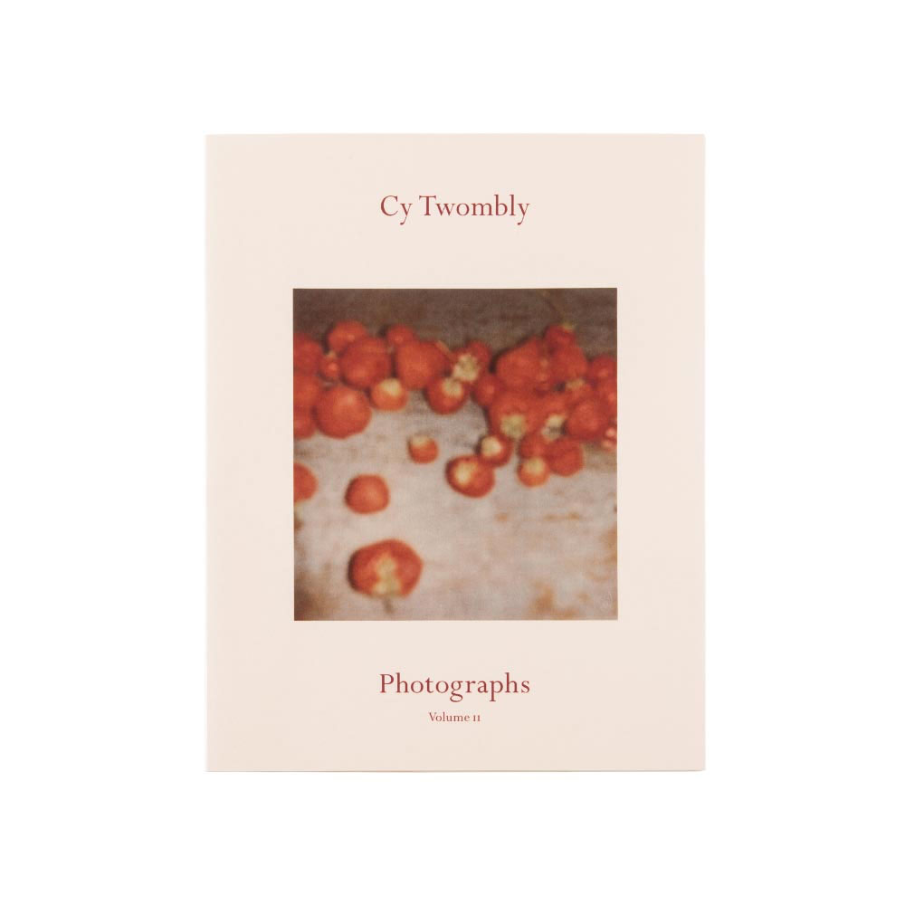 Cy Twombly: Photographs Volume II Catalogue