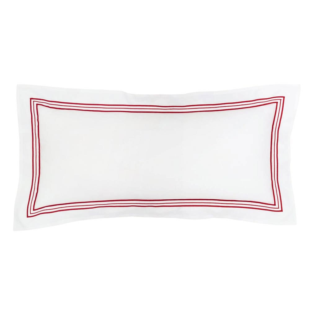 Trio Red Decorative Pillow