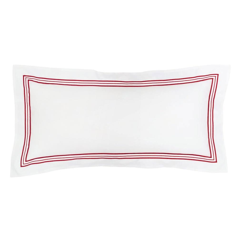 Trio Red Decorative Pillow
