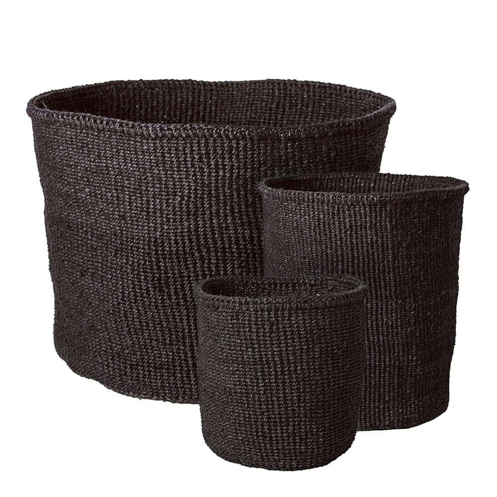 Solid Charcoal Baskets (small)