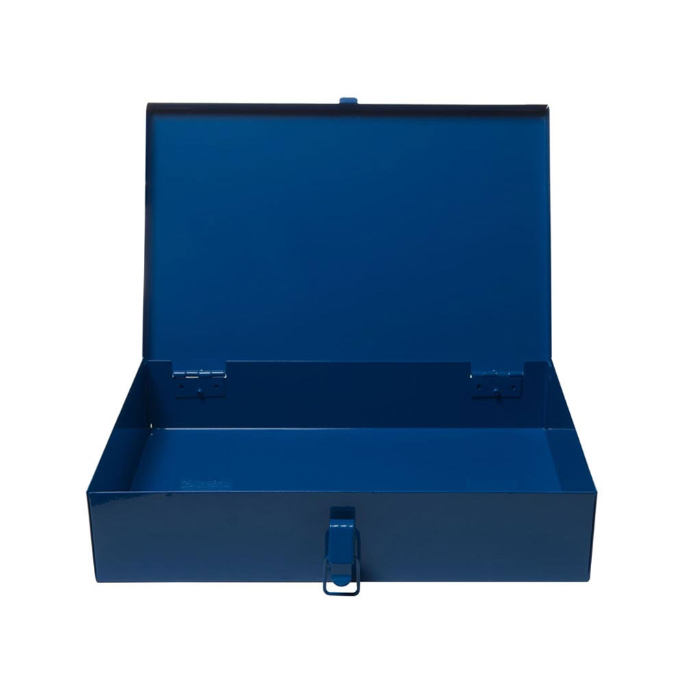 Small Blue Metal Case