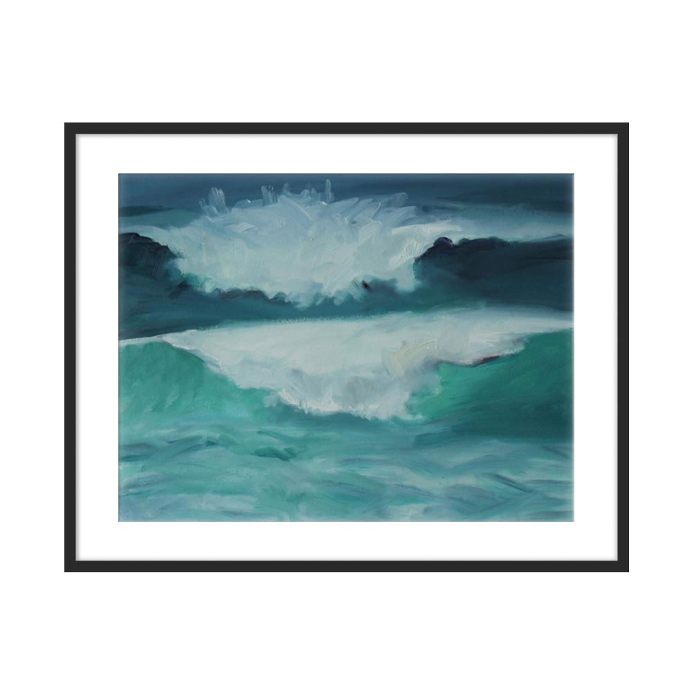 California Coast, Waves by Marie Freudenberger for Artfully Walls