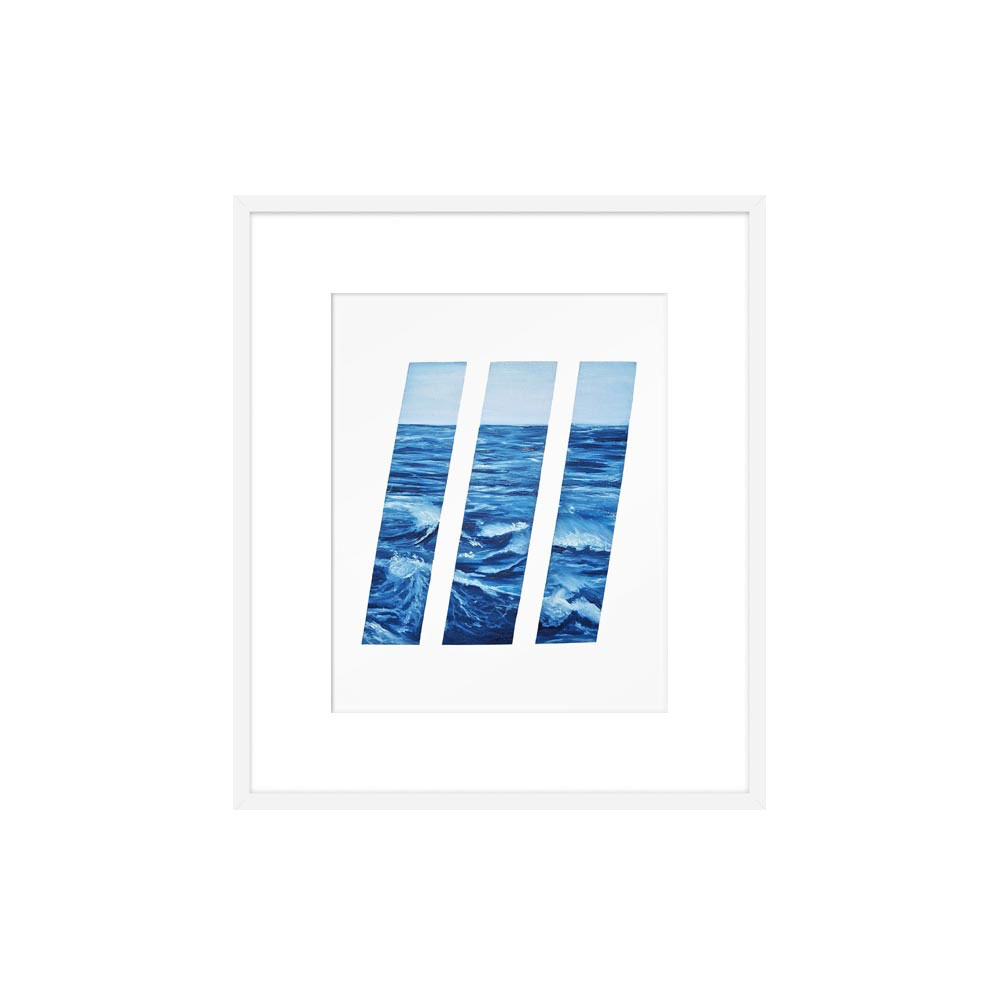 Boston Harbor by Megan Adams for Artfully Walls