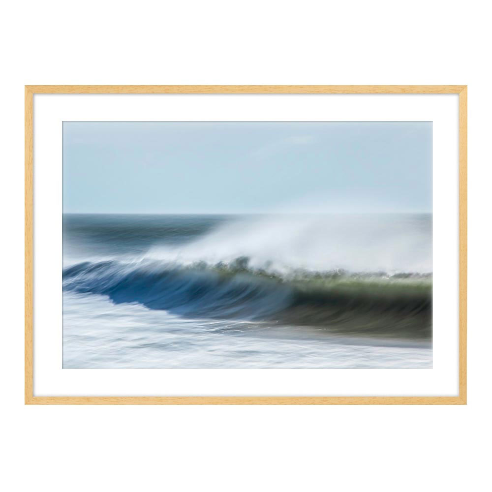 Waves with Spray by Greg Anthon for Artfully Walls